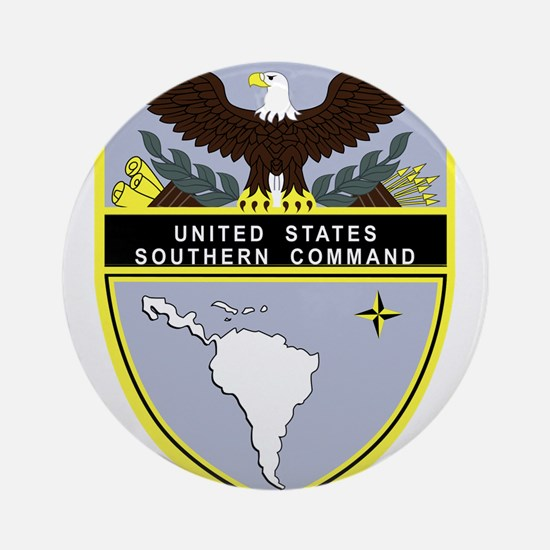 Southern Command Ornament (Round)