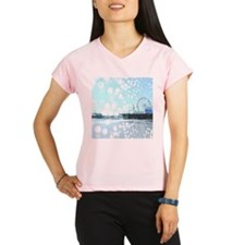 Turquoise Pier Spiderwebs Performance Dry T-Shirt