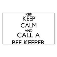 Keep calm and call a Bee Keeper Decal