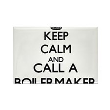 Keep calm and call a Boilermaker Magnets