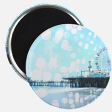 Turquoise Pier Spiderwebs Magnets