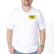 SPEAK UP - I'M HARD OF HEARING! - T-Shirt