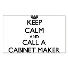 Keep calm and call a Cabinet Maker Decal