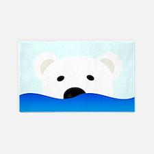Arctic Bear 3'x5' Area Rug