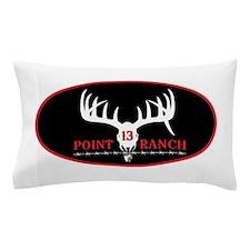 13 Point Ranch Logo Pillow Case