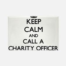 Keep calm and call a Charity Officer Magnets