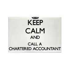 Keep calm and call a Chartered Accountant Magnets