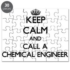 Keep calm and call a Chemical Engineer Puzzle
