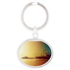 Pier Orange Sunrise Keychains