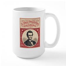 1860 - Lincoln - El Biejo Onesto Abe Cigarros Mugs
