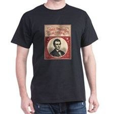 1860 - Lincoln - El Biejo Onesto Abe Cigarros T-Sh
