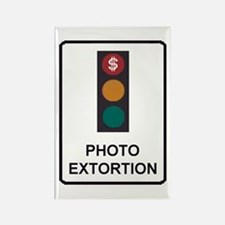 Red Light Cameras Rectangle Magnet (100 pack)