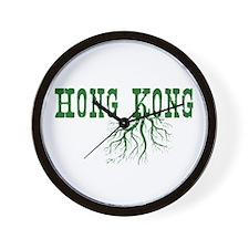 Hong Kong Roots Wall Clock
