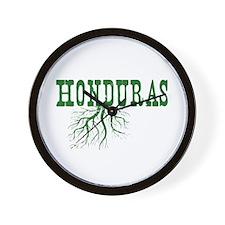 Honduras Roots Wall Clock