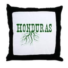 Honduras Roots Throw Pillow