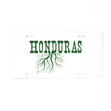 Honduras Roots Aluminum License Plate
