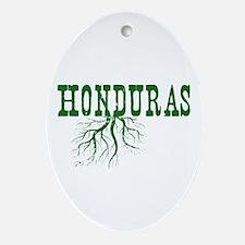 Honduras Roots Ornament (Oval)