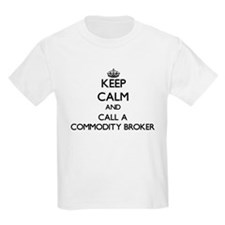 Keep calm and call a Commodity Broker T-Shirt