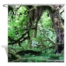 Funny National forest Shower Curtain