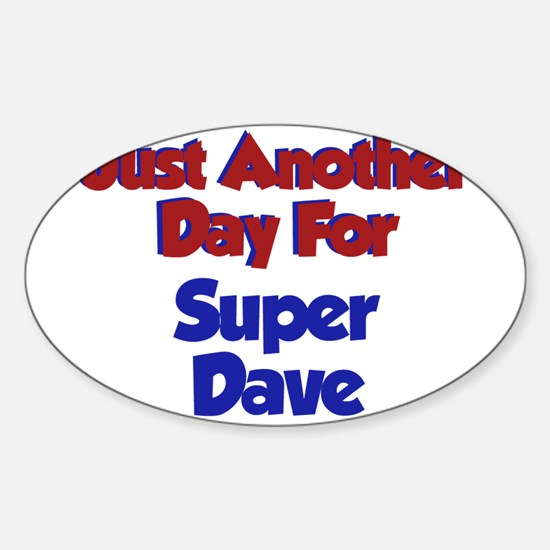 Funny Super baby Sticker (Oval)