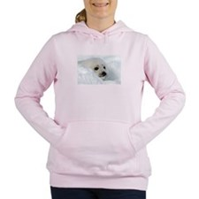 fur seal Women's Hooded Sweatshirt