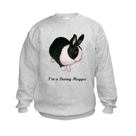 Dutch Bunny Hugger Kids Sweatshirt