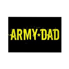 Army Dad: Black and Gold Magnets