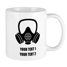Personalized Breaking Bad Gas Mask 1 Mugs