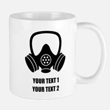 Personalized Breaking Bad Gas Mask 1 Mugs