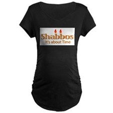Shabbos It's About Time T-Shirt