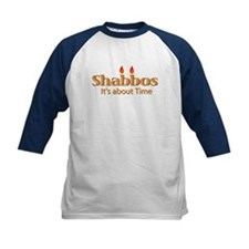 Shabbos It's About Time Tee
