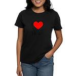 Love Victor Hugo Women's Dark T-Shirt