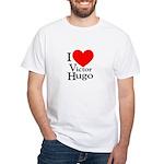 Love Victor Hugo White T-Shirt