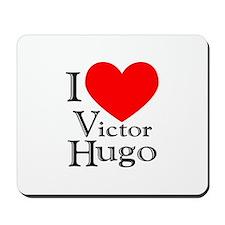 Love Victor Hugo Mousepad