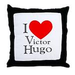 Love Victor Hugo Throw Pillow