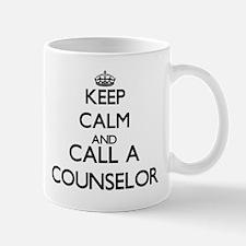 Keep calm and call a Counselor Mugs