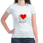 Love Victor Hugo Jr. Ringer T-Shirt