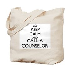 Keep calm and call a Counselor Tote Bag