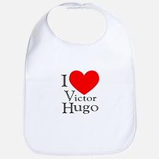 Love Victor Hugo Bib