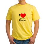Love Victor Hugo Yellow T-Shirt