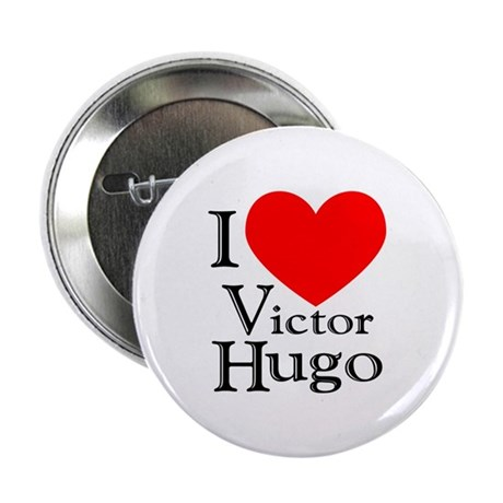 """Love Victor Hugo 2.25"""" Button (10 pack)"""