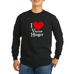 Love Victor Hugo Long Sleeve Dark T-Shirt