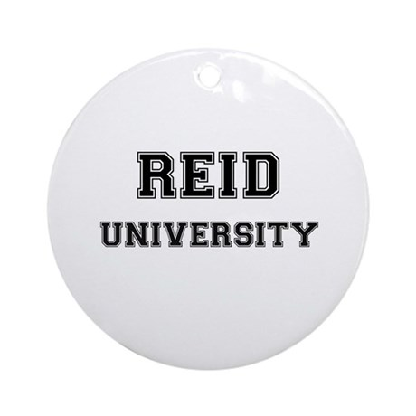 REID UNIVERSITY Ornament (Round)