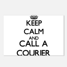 Keep calm and call a Cour Postcards (Package of 8)