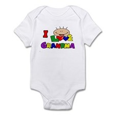 I Love Grandma CUTE Baby/toddler bodysuit