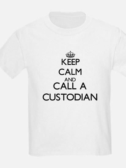 Keep calm and call a Custodian T-Shirt