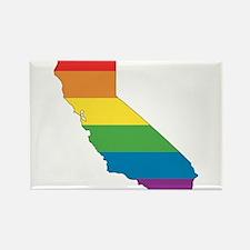 Cute California gay pride Rectangle Magnet