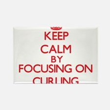 Keep Calm by focusing on Curling Magnets