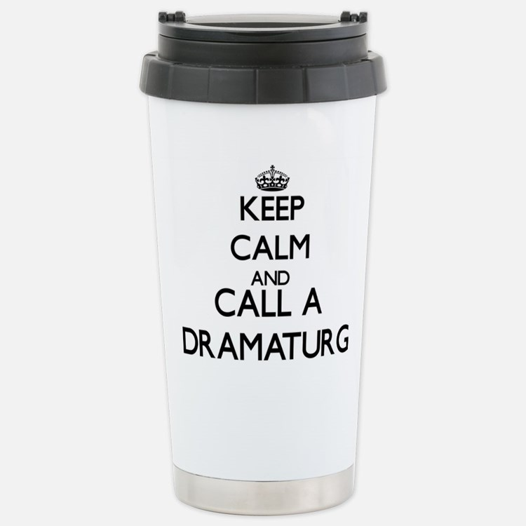 Keep calm and call a Dr Travel Mug