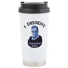 Notorious RBG Travel Coffee Mug